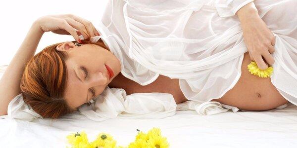 60minutová relaxační těhotenská masáž