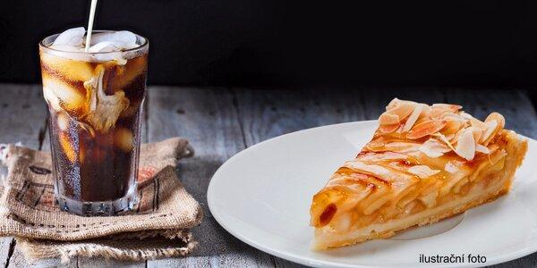 Dva francouzské dezerty a ledové či jiné kávy