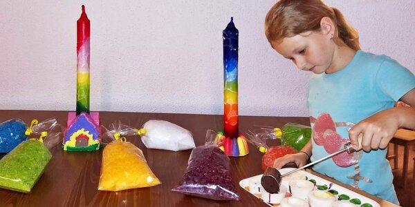 Kreativní den: Letní výroba ve svíčkárně Rodas