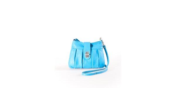 Dámská tyrkysová mini kabelka na zámeček Luisa Vannini
