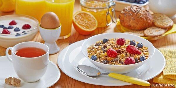 Zahajte den kvalitní snídaní s kávou či čajem