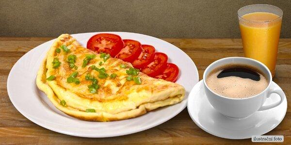 Užijte si pohodové ráno: Snídaňové menu pro dva