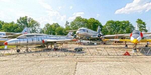 Vstup do Muzea letecké a pozemní techniky