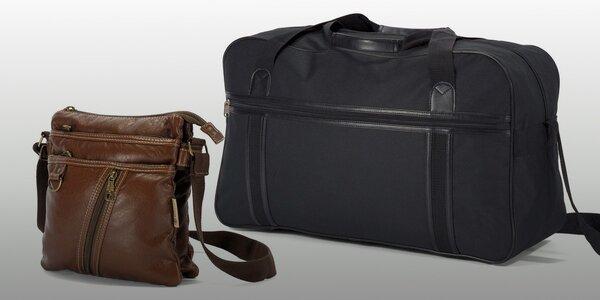 Na dovolenou s cestovní taškou a dokladovkou BENZI