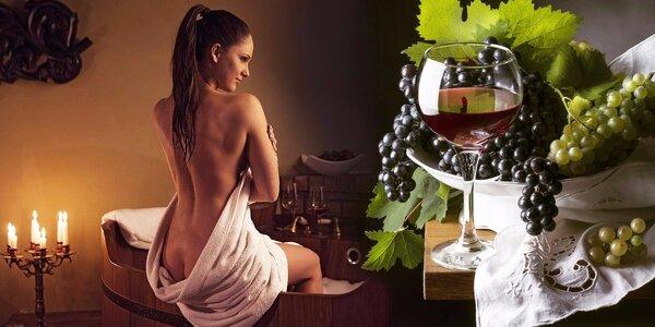 Božský relax pro dva ve Vinných lázních Anežka