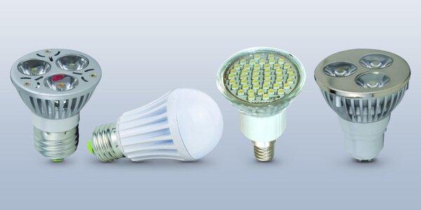 Široký výběr LED žárovek pro lustry i lampičky