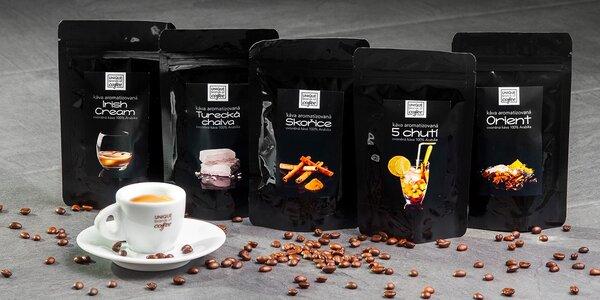 Sety vynikajících aromatizovaných káv z Kolumbie