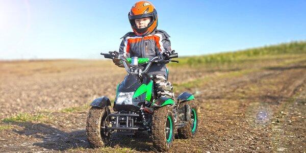Dětská jízda: Ecrossové motorky a čtyřkolky