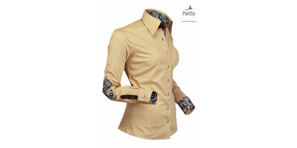 Elegantní košile z dílny Pontto
