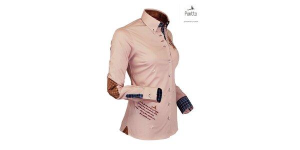 Jachtařská trendy košile Pontto