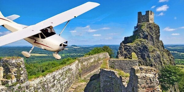Vyhlídkové lety nad krásami Čech