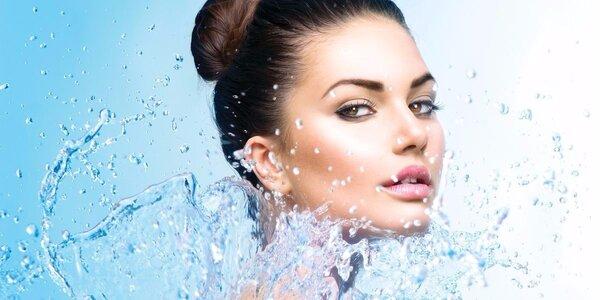 Kosmetické ošetření pleti s intenzivní hydratací