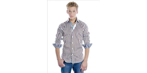 Elegantní pánská košile Pontto