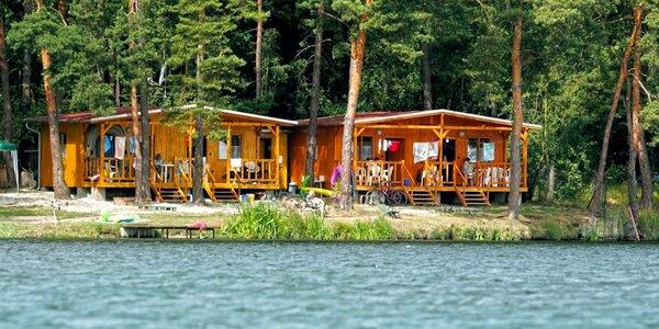 Rodinný týden na chatě u Mydlovarského rybníka