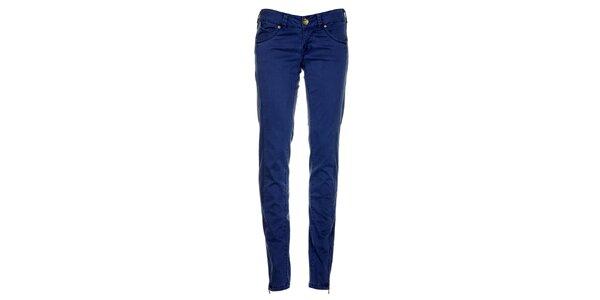 Dámské indigově modré džíny Timeout se zipy