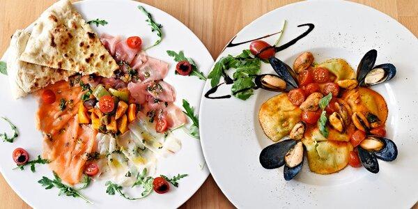Italský večer: Degustační menu a tóny živé hudby