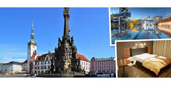 3 dny v letní Olomouci pro dva