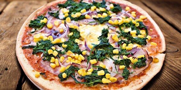 Bezlepková pizza s vašimi oblíbenými surovinami