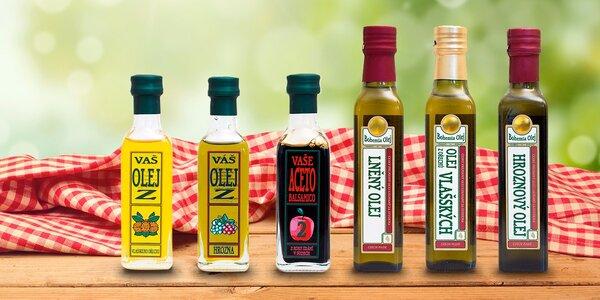 Za studena lisované oleje české výroby
