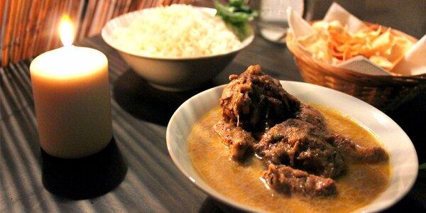 S vůní dálek: Srílanské degustační menu pro dva