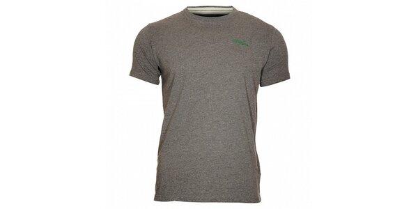 Pánské šedé melírované tričko Timeout