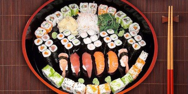 Hostina v asijském stylu - famózní sushi sety