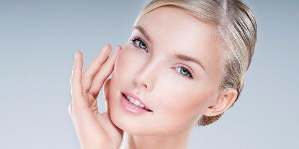 Expresní čistící kosmetické ošetření + líčení