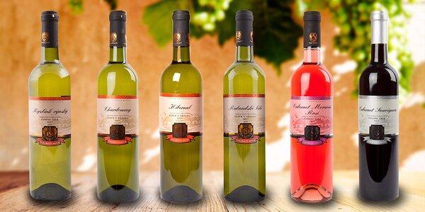 Naplňte sklenky - šest vín z Vinařství Soviš
