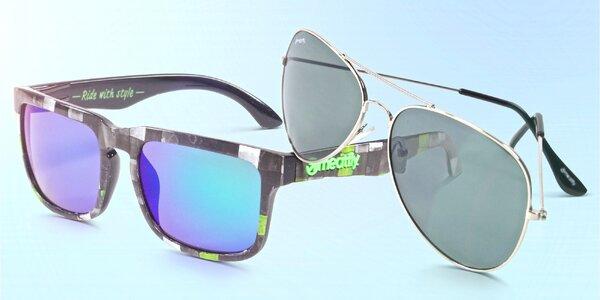 Frajerské sluneční brýle Meatfly včetně obalu