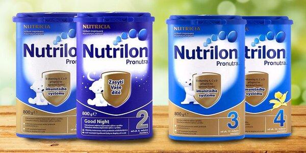 6 balení výživy Nutrilon Nutricia
