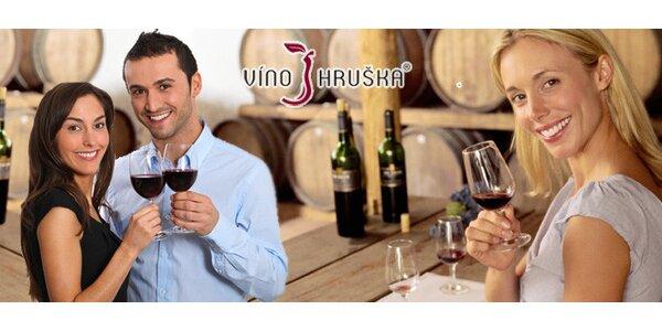 Večer s vínem. Degustace vín a pokrmů