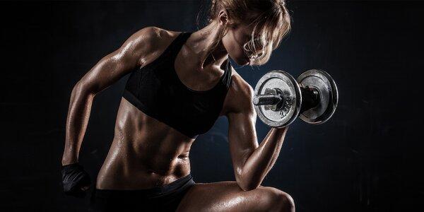 Posilujte a formujte postavu ve fitness centru