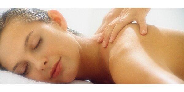 Relaxační masáž zad a šíje v Kolíně