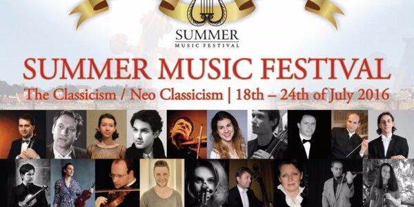 Vstupenky na Letní hudební festival