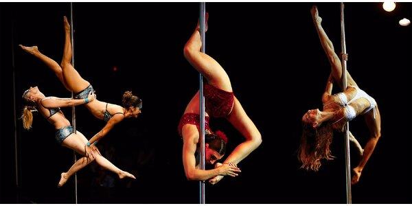 Letní lekce Pole dance ve studiu ONE2ONE