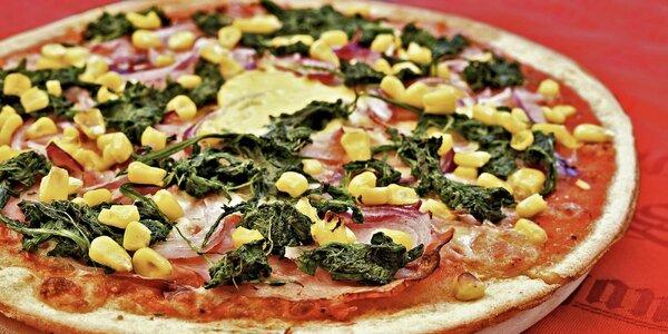 Bezlepková pizza zdobená podle vaší fantazie