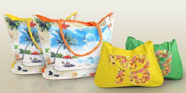 Veselé plážové tašky nejen k vodě