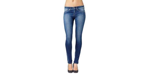 Dámské modré skinny džíny Pepe Jeans