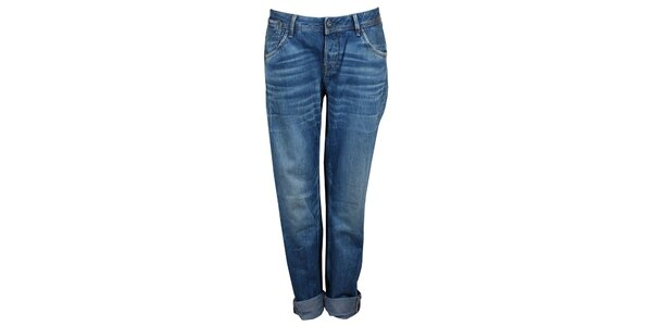 Dámské modré boyfriend džíny Pepe Jeans