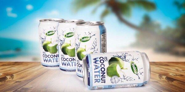 Čistá kokosová voda - osvěžení a zdraví v jednom