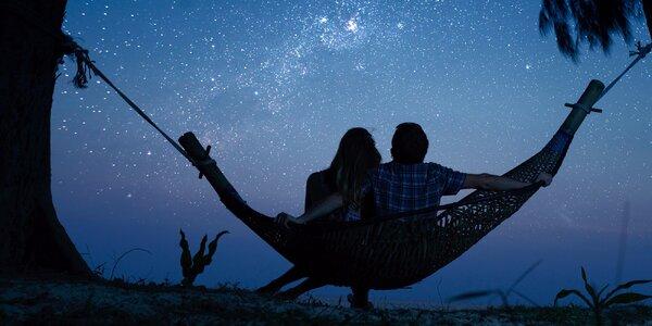 Romantika pro 2: Ubytování s pozorováním hvězd