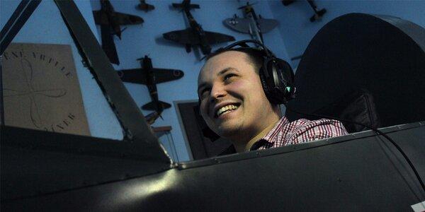 Letecký sen: Hodinu pilotem Messerschmittu