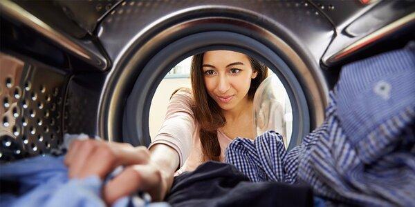 Praní prádla obsluhou v prádelně Quickwash
