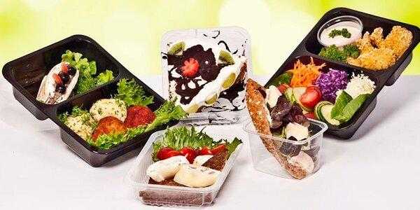 Vyvážené a chutné Fitness Food menu včetně dopravy