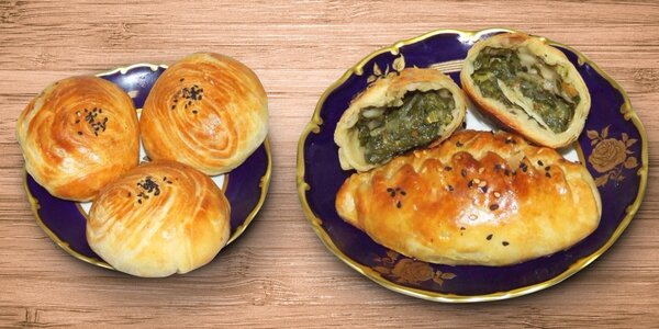 Arabské chuťovky: Slaná samsa a sladká baklava