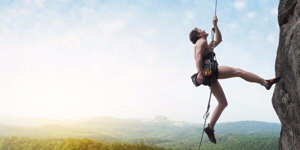 Letní kurz horolezectví v Adršpachu
