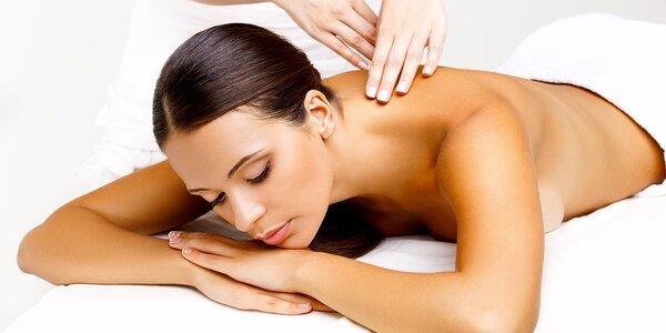 60 nebo 90 minut příjemné masáže dle výběru