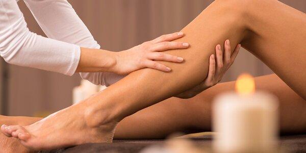 2hodinový relax: Lymfatická masáž se zábalem