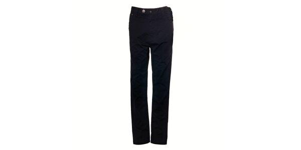 Pánské černé chino kalhoty Timeout se super nízkým sedem