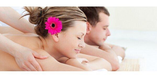 2hodinová relaxační masáž celého těla